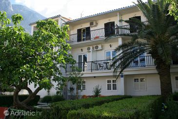 Property Baška Voda (Makarska) - Accommodation 2675 - Apartments and Rooms near sea with pebble beach.