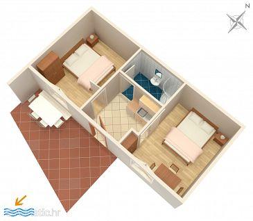 Apartment A-2677-a - Apartments Tučepi (Makarska) - 2677