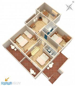 Apartment A-2677-b - Apartments Tučepi (Makarska) - 2677