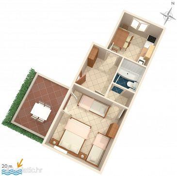 Apartment A-2678-a - Apartments Baška Voda (Makarska) - 2678