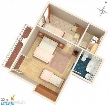 Apartment A-2678-c - Apartments Baška Voda (Makarska) - 2678
