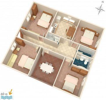 Apartament A-268-a - Apartamenty Orebić (Pelješac) - 268