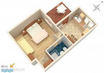 Apartment A-268-c - Apartments Orebić (Pelješac) - 268
