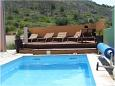 Courtyard Promajna (Makarska) - Accommodation 2691 - Apartments with pebble beach.