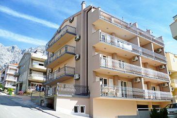 Obiekt Makarska (Makarska) - Zakwaterowanie 2692 - Apartamenty ze żwirową plażą.