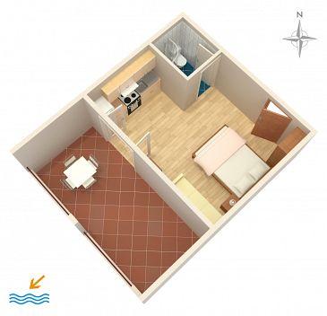 Studio AS-2694-a - Apartamenty Tučepi (Makarska) - 2694