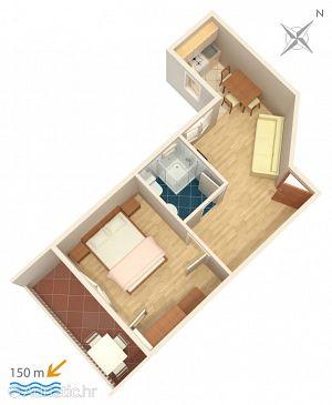 Apartment A-2698-c - Apartments Baška Voda (Makarska) - 2698