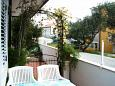 Terrace - view - Apartment A-2704-a - Apartments Promajna (Makarska) - 2704