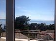 Balcony - view - Apartment A-2705-c - Apartments Drašnice (Makarska) - 2705