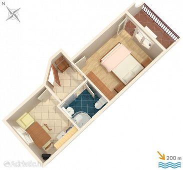 Apartment A-2709-a - Apartments Baška Voda (Makarska) - 2709