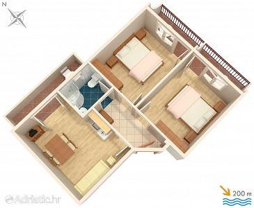 Apartment A-2709-b - Apartments Baška Voda (Makarska) - 2709