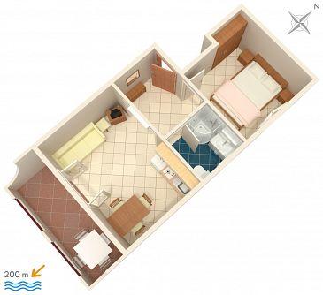 Apartment A-2709-c - Apartments Baška Voda (Makarska) - 2709