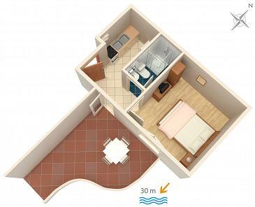 Apartament A-2711-c - Apartamenty Podaca (Makarska) - 2711