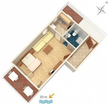 Studio AS-2711-a - Apartamenty Podaca (Makarska) - 2711