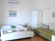 Bedroom - Studio flat AS-2713-a - Apartments Brela (Makarska) - 2713