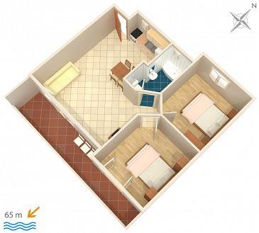 Apartament A-2714-c - Apartamenty Podgora (Makarska) - 2714