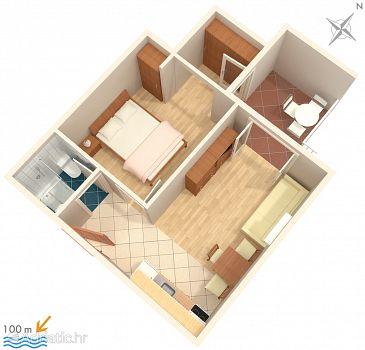 Apartment A-2721-a - Apartments Tučepi (Makarska) - 2721