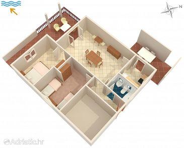 Apartment A-2727-a - Apartments Promajna (Makarska) - 2727