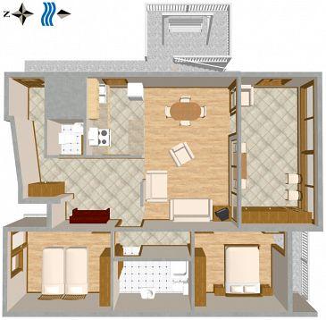 Apartament A-2737-a - Apartamenty Duće (Omiš) - 2737