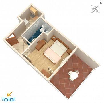Apartament A-2738-a - Apartamenty Omiš (Omiš) - 2738