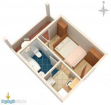 Studio flat AS-2738-a - Apartments Omiš (Omiš) - 2738
