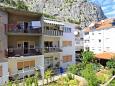 Omiš, Balcony - view u smještaju tipa studio-apartment, WIFI.