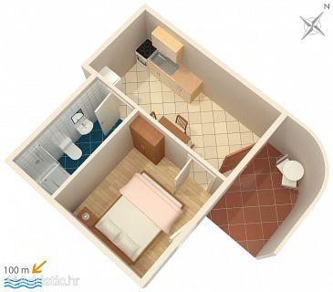 Apartment A-2742-d - Apartments Pisak (Omiš) - 2742