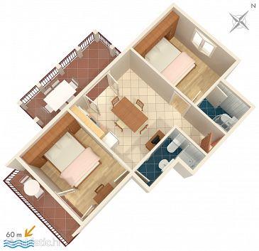 Apartment A-275-d - Apartments Orebić (Pelješac) - 275