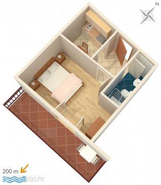 Apartment A-2751-c - Apartments Omiš (Omiš) - 2751