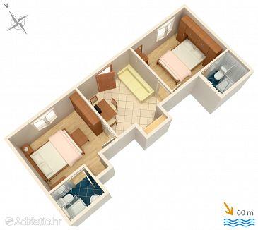 Apartment A-2756-b - Apartments Baška Voda (Makarska) - 2756