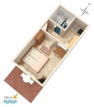 Apartament A-2791-b - Apartamenty Marina (Trogir) - 2791