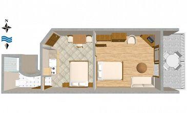 Apartament A-2797-d - Apartamenty Stanići (Omiš) - 2797