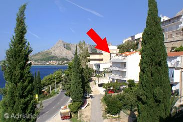 Property Omiš (Omiš) - Accommodation 2798 - Apartments near sea with pebble beach.