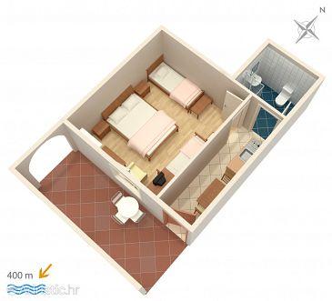 Apartment A-2801-a - Apartments Duće (Omiš) - 2801