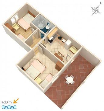 Apartment A-2801-b - Apartments Duće (Omiš) - 2801