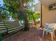 Terrace - Studio flat AS-2802-a - Apartments Pisak (Omiš) - 2802