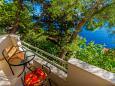 Balcony - view - Studio flat AS-2802-b - Apartments Pisak (Omiš) - 2802