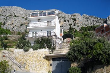Property Mimice (Omiš) - Accommodation 2805 - Apartments with pebble beach.