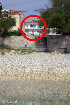 Property Orij (Omiš) - Accommodation 2810 - Apartments near sea with pebble beach.