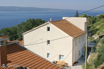 Property Duće (Omiš) - Accommodation 2829 - Apartments near sea with sandy beach.