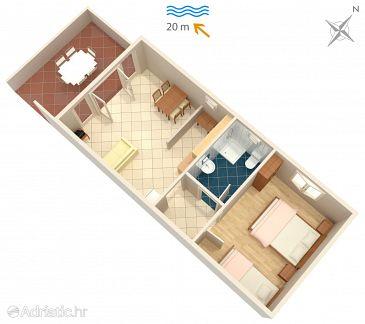 Apartment A-284-b - Apartments Luka Dubrava (Pelješac) - 284