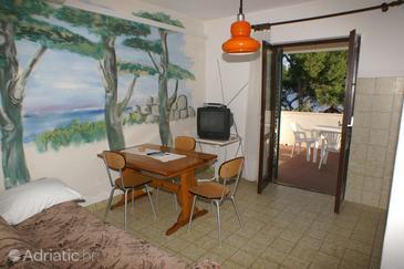 Supetar, Dining room u smještaju tipa apartment, dostupna klima.