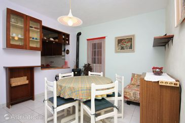 Vela Farska, Dining room u smještaju tipa apartment.