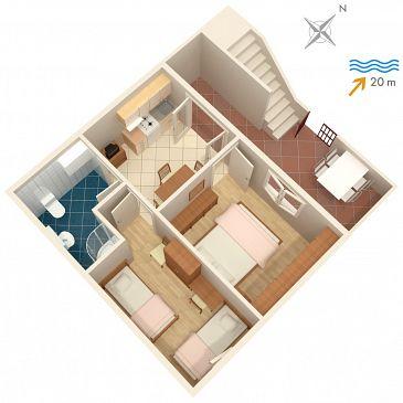Apartament A-2898-b - Apartamenty Postira (Brač) - 2898