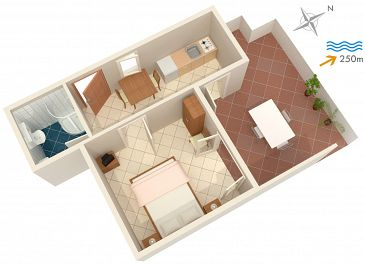 Apartament A-2919-a - Apartamenty Postira (Brač) - 2919
