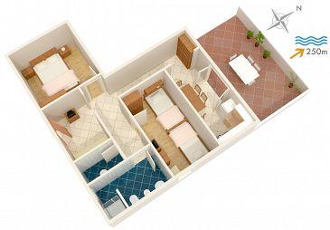 Apartament A-2919-b - Apartamenty Postira (Brač) - 2919