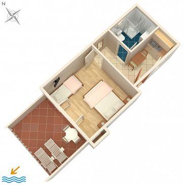 Apartament A-2923-a - Apartamenty Splitska (Brač) - 2923