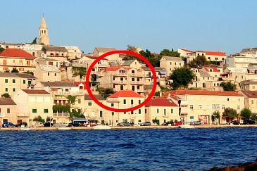 Obiekt Povlja (Brač) - Zakwaterowanie 2954 - Apartamenty blisko morza.
