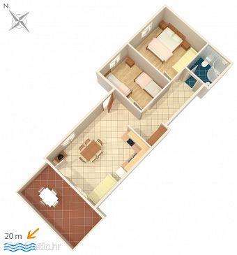 Apartment A-2970-a - Apartments Ražanj (Rogoznica) - 2970