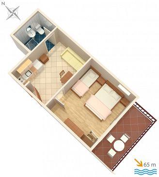 Apartament A-2973-a - Kwatery Lokva Rogoznica (Omiš) - 2973